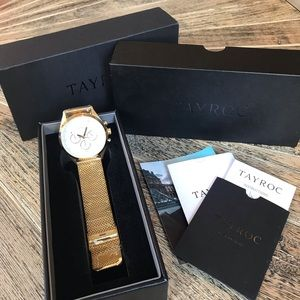Tayroc Gold Watch - NEW WITH TAGS